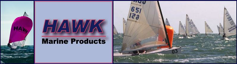 Hawk Apparent Wind Indicators, Hawk Burgees, Hawk Centerboard Slot Gasket