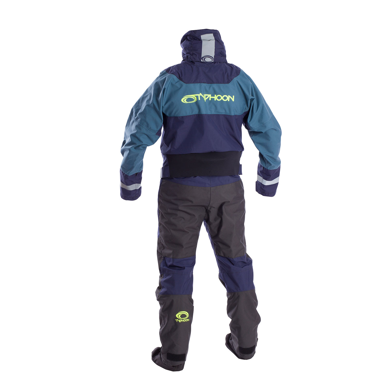 Typhoon Multisport SK Drysuit with Con Zip 2019 Teal Green