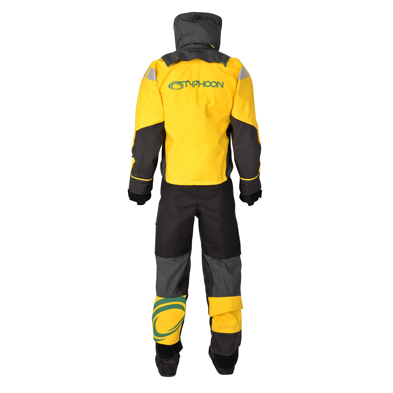 Typhoon Equator Hinge Drysuit Grey//Yellow 100148 Free Underfleece