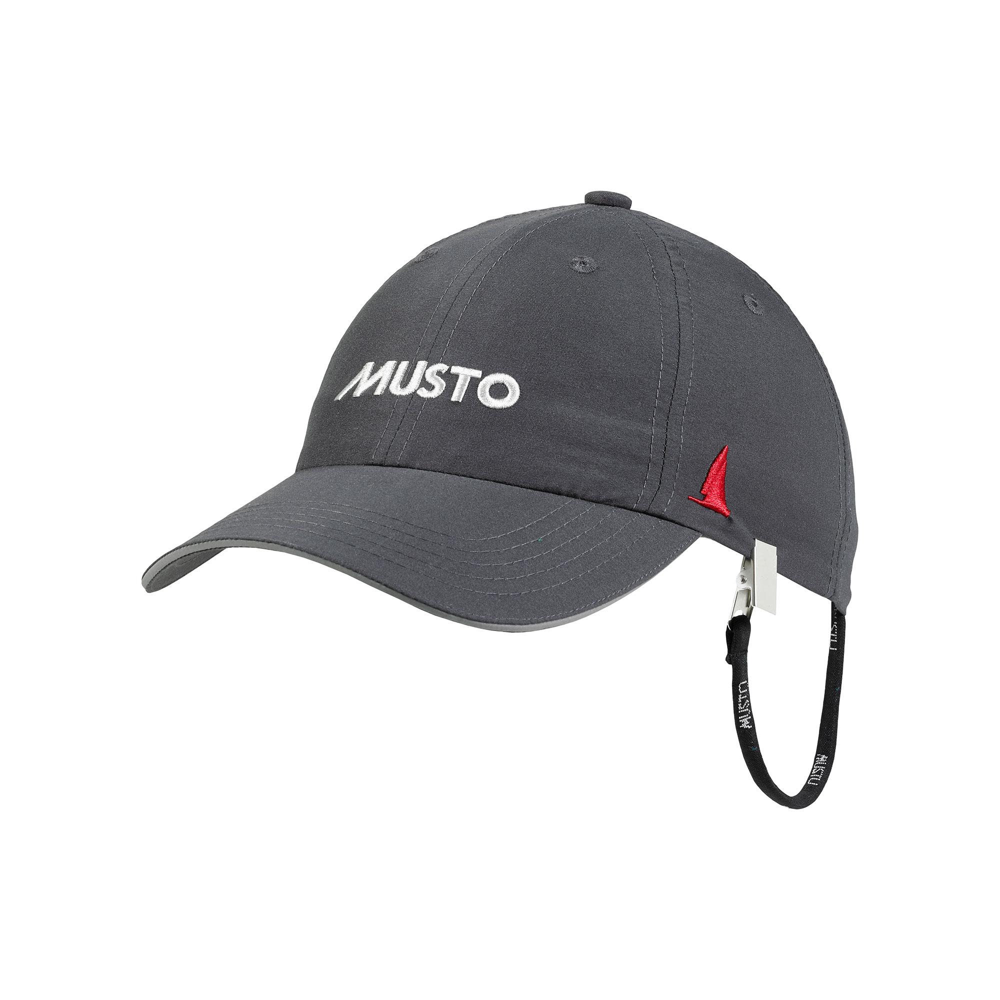 Musto Essential UV Fast Dry Crew cap Charcoal
