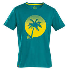 Palm Sunset T-Shirt - Teal