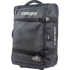 Cressi Piper Carry On Wheeled Luggage 50L - Black