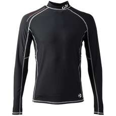 Gill Mens Pro Rash Vest Long Sleeve  - Black