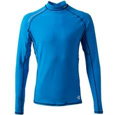 Gill Mens Pro Rash Vest Long Sleeve  - Blue