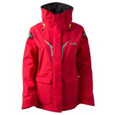 Gill OS3 Womens Coastal Sailing Jacket 2018 - Red