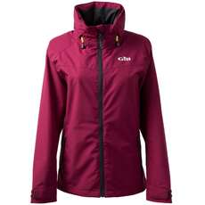Gill Womens Pilot Inshore Sailing Jacket 2018 - Berry