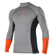 Magic Marine Impact Pro Long Sleeve Top  - Grey