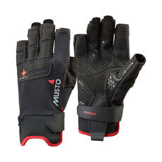 Musto Performance Short Finger Sailing Gloves -  - Black