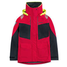 Musto Womens BR2 Coastal Jacket 2018 - True Red/Black
