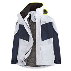 Musto Womens BR2 Coastal Jacket 2018 - White/True Navy