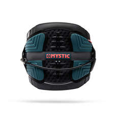 Mystic LEGEND Kitesurf Harness 2019 - Teal/Red