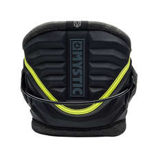 Mystic WARRIOR V Kitesurf Harness 2018 - Black/Yellow