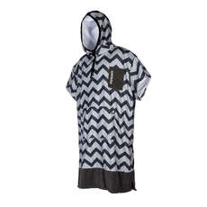 Mystic ALLOVER Print Poncho / Fleece / Changing Robe 2019 - Light Grey