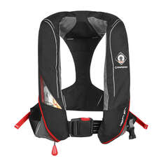 Crewsaver Crewfit 180N Pro Lifejacket - Black - Automatic Non Harness