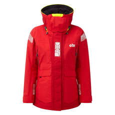 Gill Womens OS2 Offshore / Coastal Sailing Jacket 2019 - Red