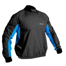 Gul Shore Waterproof / Windproof Spray Top  - Black/Blue