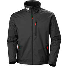 Helly Hansen Crew Mid Layer Jacket - Black