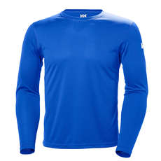 Helly Hansen HH Tech Crew Long Sleeve Shirt - Olympian Blue
