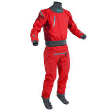 Palm Atom Paddling / Kayaking Drysuit  - Flame/Chilli