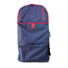Sola Surge Double Bodyboard Bag / Backpack - Navy/Red - 42""