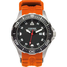 Cressi Manta Divers Watch 100m - Black/Orange