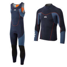 Gill Race Firecell Wetsuit Kit - Blue
