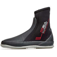 2020 Gul All Purpose Boots - 5mm Wetsuit Boots - Black/Grey - BO1276-B8