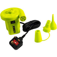 Jobe 230V Air Pump  - UK Plug - Yellow