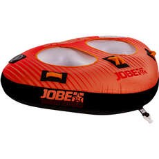 Jobe Double Trouble 2 Person Towable  - Red