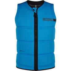 Mystic BRAND Wake Boarding Front-Zip Impact Vest - Global Blue