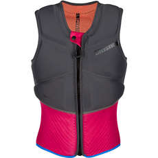 Mystic Womens Diva Kite Surfing Front-Zip Impact Vest - Phantom Grey