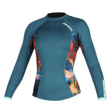 Mystic Womens Diva 2mm Long Sleeve Neoprene Vest - Teal