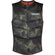 Mystic Majestic Kite Surfing Side-Zip Impact Vest - Brave Green