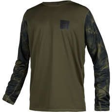 Mystic  Majestic Long Sleeve Quickdry Top  - Brave Green