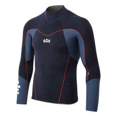 Gill Race Firecell Long Sleeve Wetsuit Top - Blue