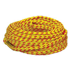 Connelly Deluxe 60 Feet 2 Person Tube Rope - Yellow