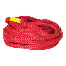 Connelly Value 60 Feet 4 Person Tube Rope - Red