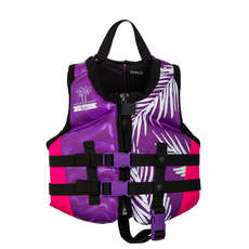 Radar Girls Childs PFD Vest - Purple/Pink