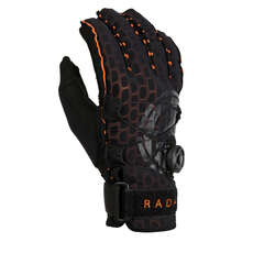 Radar Vapor A BOA Inside Out Glove - Black/Orange