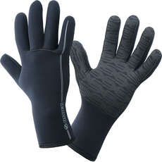 Alder Junior EDGE 3mm Wetsuit Gloves  - Black