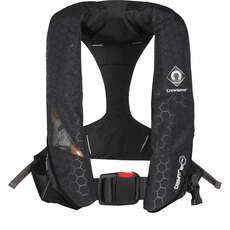 Crewsaver Crewfit+ 180N Pro Lifejacket - Black - Auto Hood & Light