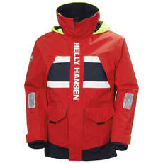 Helly Hansen Salt Coastal Sailing Jacket - Alert Red