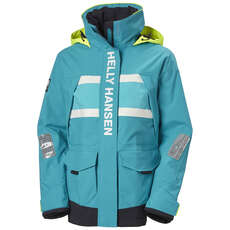 Helly Hansen Womens Salt Coastal Jacket - Caribbean Sea