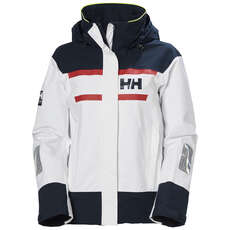 Helly Hansen Womens Salt Inshore Jacket - White
