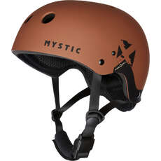 Mystic MK8X Kite & Wakeboarding Helmet  - Rusty Red