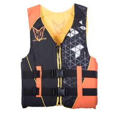 HO Sports Mens Infinite Waterski Vest - Orange/Black