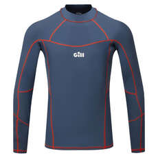 Gill Pro Rash Vest Long Sleeve - Ocean