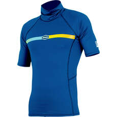 Alder Cruz Junior Short Sleeve Rashguard  - Blue