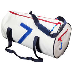 Bainbridge Premium Sailcloth Sail Number Sailing Bag - White - 43 Ltr