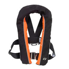 Baltic Winner 165 Life Jacket w/Harness 150 N - Black/Orange